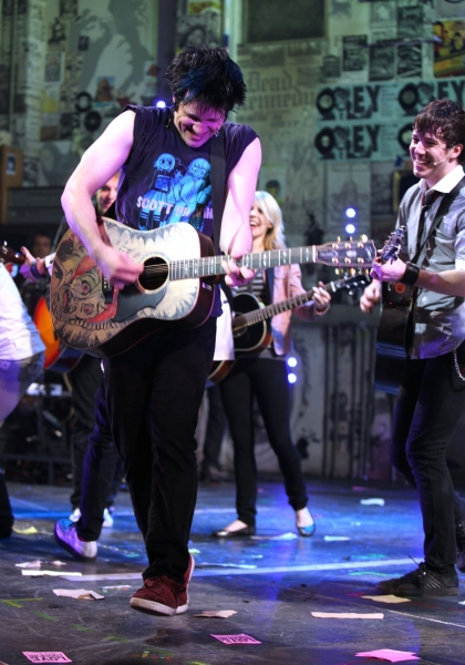 Photo Coverage: Billie Joe Armstrong Makes Broadway Debut in IDIOT!