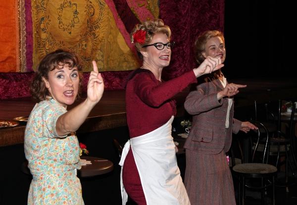 Dorothy Atkinson, Annette McLaughlin and Hannah Yelland