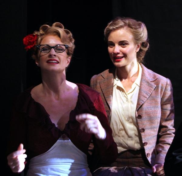 Annette McLaughlin and Hannah Yelland