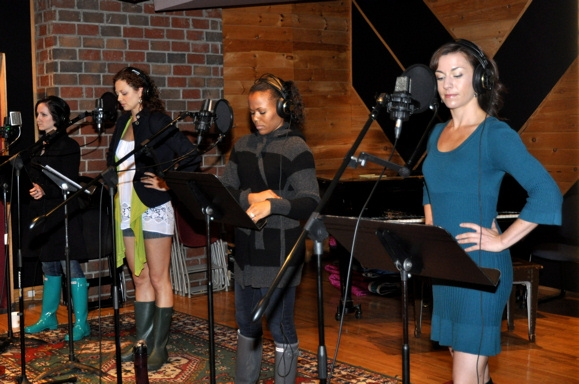 Margot de La Barre, Kristen Beth Williams, Nikki Renee Daniels, and Wendi Bergamini