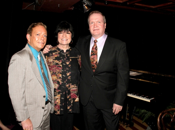 NIGEL, JoAnne Worley and record Producer, Steve Jahier