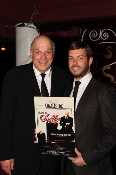 Photo Flash: Charles Fox At Cabaret At The Castle