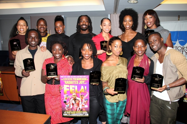 Photo Coverage: FELA! Receives Equity's ACCA Award