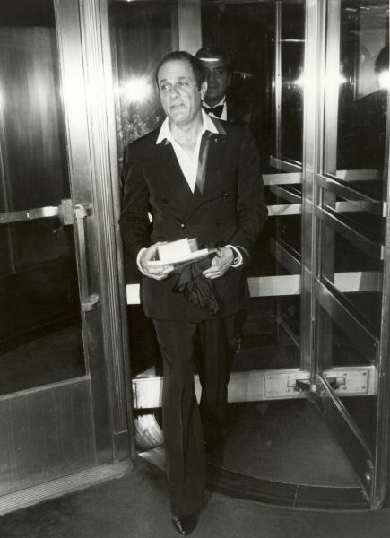 Tony Curtis, New York City, 1982 Photo