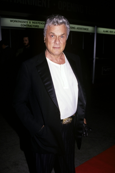 Tony Curtis, New Orleans, 1986