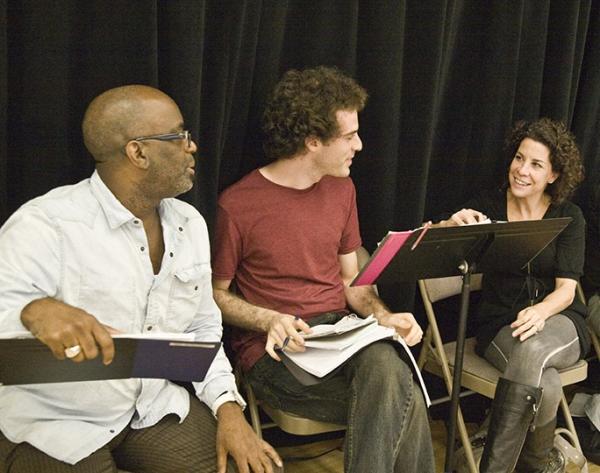 Lindsay Chambers, Andrew Cao, Lorna Ventura  at FROG KISS At NYMF