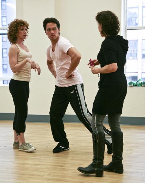 Kenneth Roberson, Joshua Luxenberg, Lorna Ventura Photo