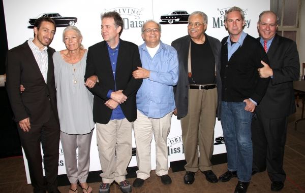 Producer Adam Zotovich, Boyd Gaines, Alfred Uhry, Vanessa Redgrave, James Earl Jones, David Esbjornson and Producer Jed Bernstein