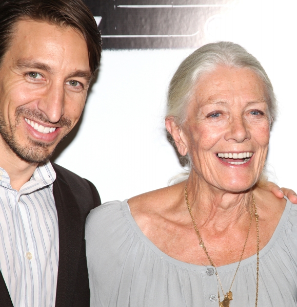 Producer Adam Zotovich and Vanessa Redgrave