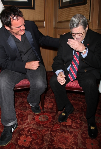 Quentin Tarantino and Jerry Lewis