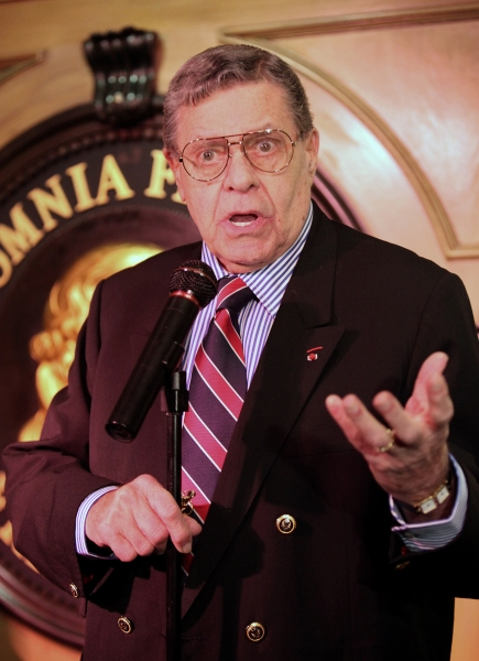 Photo Coverage: Friars Club Honors Jerry Lewis with Lifetime Achievement Award