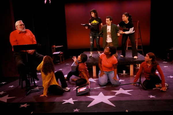 Photo Flash: Musicals in Mufti: The Roar of the Greasepaint – The Smell of the Crowd