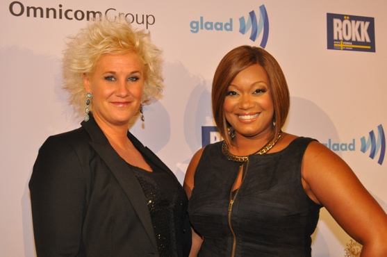 Anne Burrell and Sunny Anderson