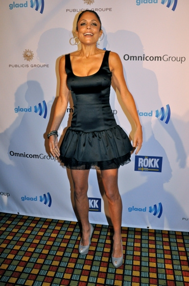 Bethenny Frankel at Batt and More at the 2010 GLAAD Media Awards