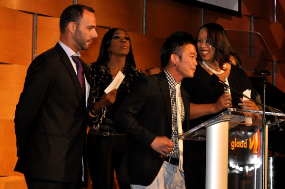 Photo Coverage: Batt and More at the 2010 GLAAD Media Awards