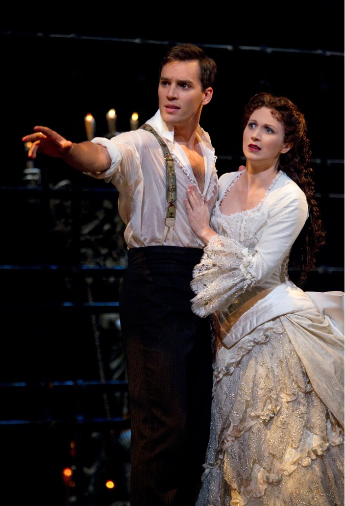 Photo Flash: Panaro & Ford in PHANTOM!