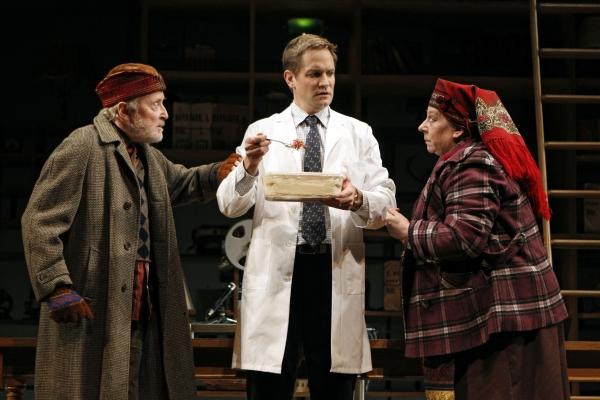 John Horton, Matt Letscher and Jayne Houdyshell
