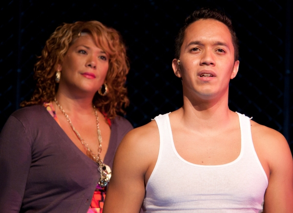 Doreen Montalvo and Justin Gregory Lopez  at THE TENTH FLOOR  at NYMF