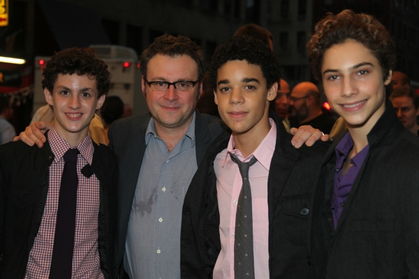 Trent Kowalik, Lee Hall, David Alvarez and Kiril Kulish