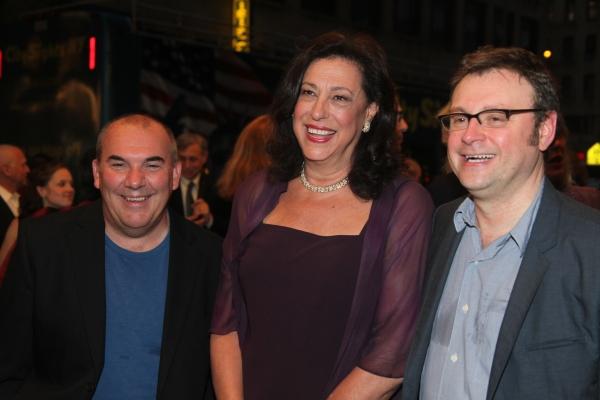 Max Roberts, Lynn Meadow and Lee Hall Photo