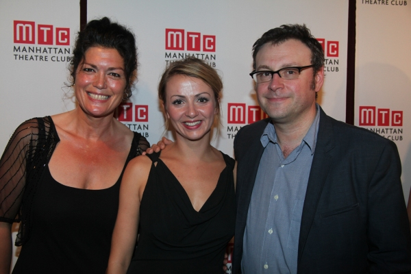 Phillippa Wilson, Lisa McGrills and Lee Hall