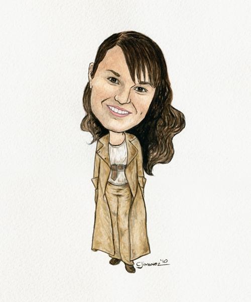 Photo Flash: Christine Jimenez Presents 25th Anniversary LES MIZ Artwork!