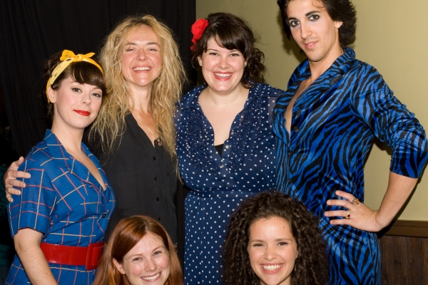 Allison Guinn, Rachel Bay Jones, Lauren Elder, Marti Gould Cummings, Allison Case, Briana Carlson-Goodman