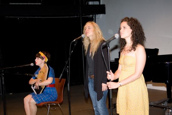 Allison Guinn, Rachel Bay Jones and Briana Carlson-Goodman