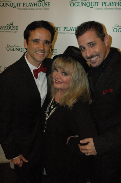Bradford Kenney, Sally Struthers, Robert Levinstein at Opening Night of CHICAGO at the Ogunquit
