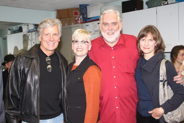 Kurt Peterson, Marcia Milgrom Dodge, Jim Brochu and Julie Peterson