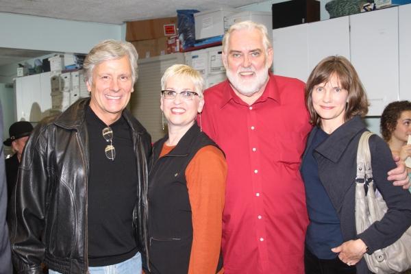 Kurt Peterson, Marcia Milgrom Dodge, Jim Brochu and Julie Peterson Photo