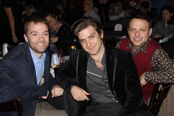 Will Trice, Harris Doran and Bobby Belfry