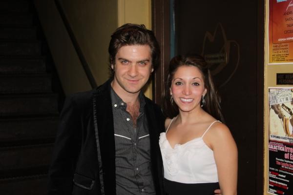 Harris Doran and Christina Bianco