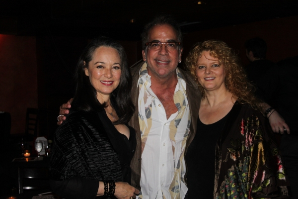 Victoria Mallory, Richard Jay-Alexander and Sarah Rice