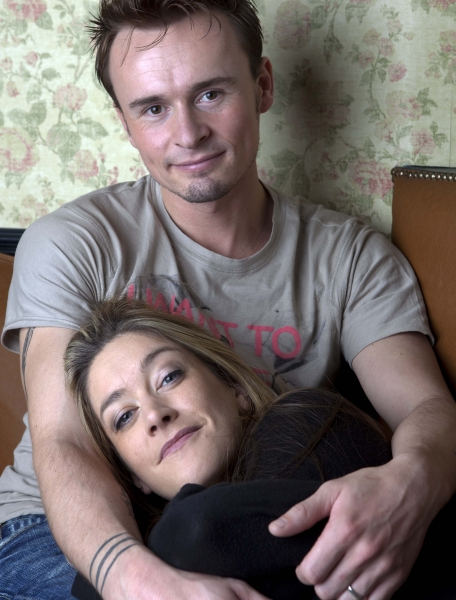 Jon Lee and Julie Atherton