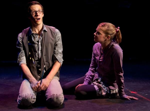 Jason Michael Snow as Edward and Jillian Louis as Kitty Photo