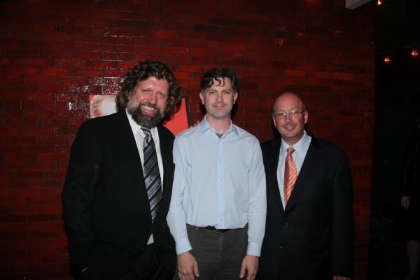 Oskar Eustis, John Collins and Andrew D. Hamingson Photo
