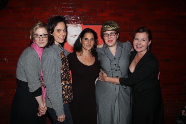 Annie McNamara, Victoria Vazquez, Susie Sokol, Kate Scelsa and Laurena Allan at GATZ Opens at The Public