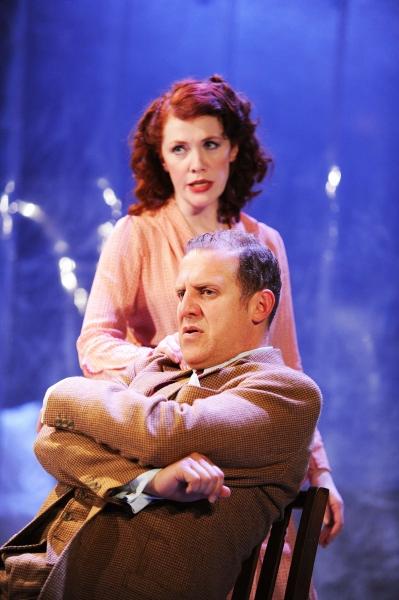 Madeleine Potter and Nigel Lindsay