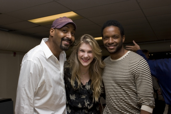 Photo Flash: MERCHANT Of VENICE in Rehearsal!