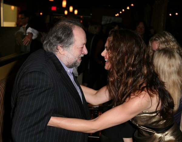 Ricky Jay (L) and cast member Brooke Shields