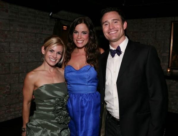 Jennie Ford, Katherine Tokarz and Brad Anderson Photo