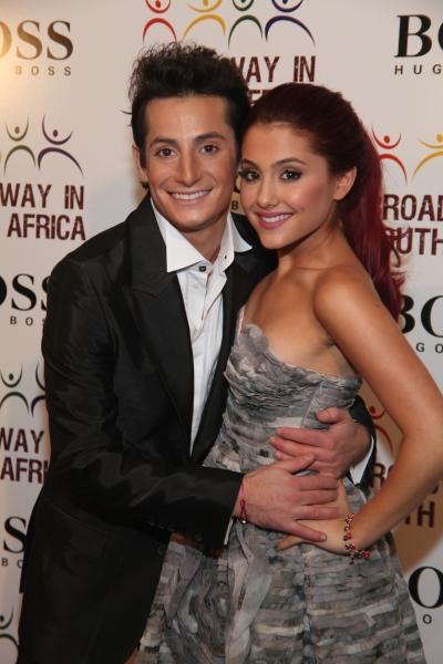 Franki James Grande and Ariana Grande