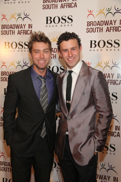 Lance Bass and Christopher Spaulding Photo