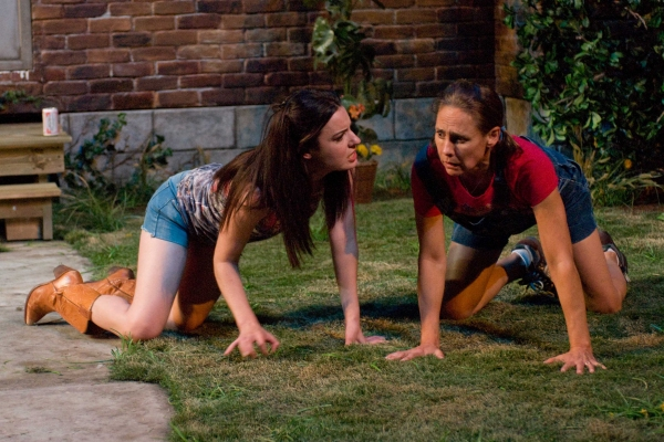 Kate Arrington and Laurie Metcalf