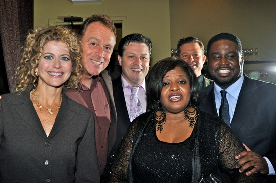 Laura Savini (WLIW TV 21), Sean Casey (CMI Entertainment, Inc.), Anthony Kearns, Alfreda Burke, Vincent Mitchell (CMI Entertainment, Inc.) and Roderick Dixon