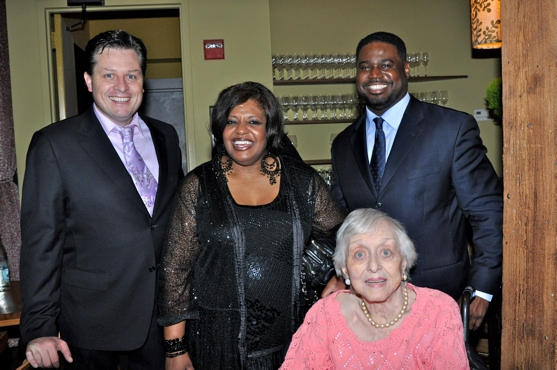 Anthony Kearns, Alfreda Burke, Rodrick Dixon and Celeste Holm