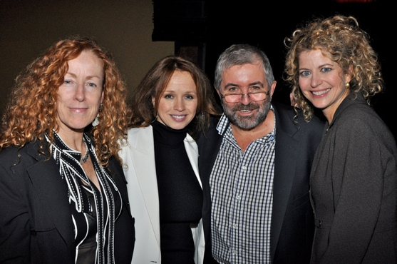 Katherine Owens (Director of Youtube 3D), Betsy O'Connor, Bill Hughes and Laura Savini