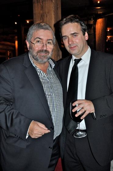 Bill Hughes and Gavin Murphy (Musical Director)