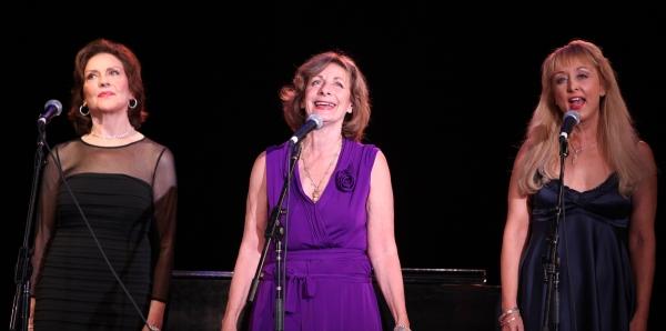 Kelly Bishop & Carole Schweid & Christina Saffran Ashford at 'Six Degrees of Marvin Hamlisch' Act Two